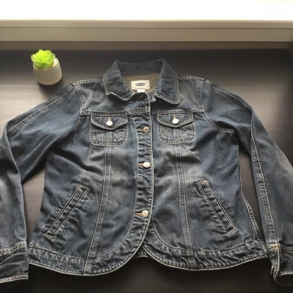 Old Navy Jackets & Blazers - Dark Wash Old Navy denim jacket